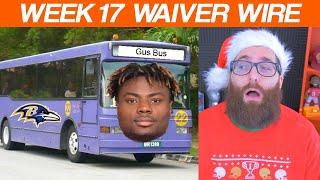 Waiver Wire Pickups Week 17 Fantasy Football 2019