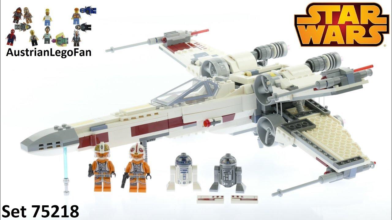 75218 Brand New LEGO Star Wars X-Wing Starfighter