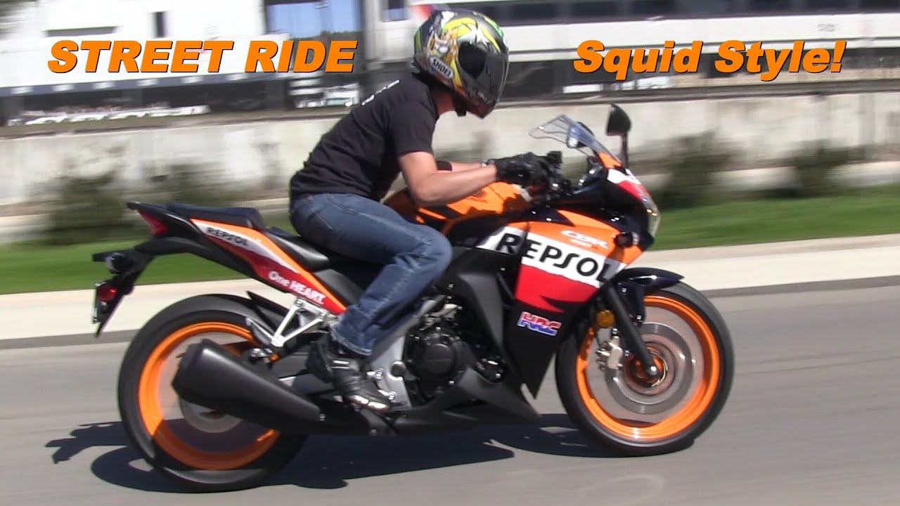 2013 Honda CBR 250R Moto GP Repsol Edition - The First Street Ride ...