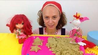 Видео для детей. Маша и подружки. Строим замок из песка