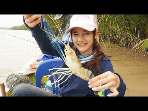 The season of prawn fishing น้ำแดงมาถึงฤดูการตกกุ้งแล้ว by fishingEZ