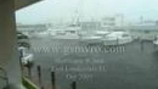 Yachts Crashing Hurricane Wilma Part 4 of 8