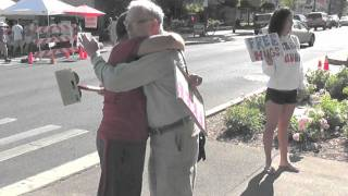 FREE HUGS Ashland Oregon Pt2