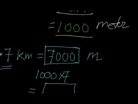 Conversion-kilometres to miles,meters