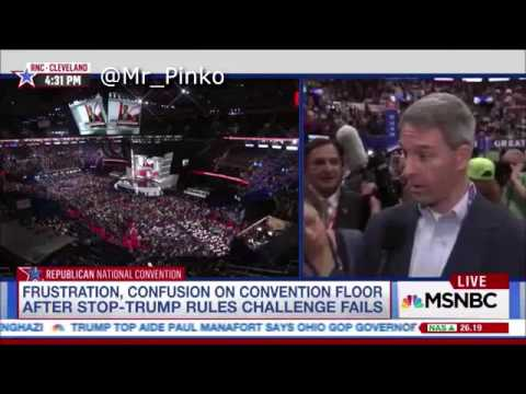 Ken Cuccinelli Drunk? at the Republican National Convention