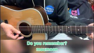 moumoonの「Do you remember?」の伴奏(カラオケ)です。アコースティックギターのみでカバーしました。 #moumoon #acomoon #covered.