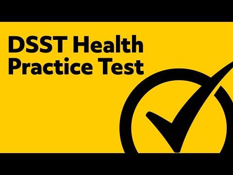 DSST Health Exam Practice Test