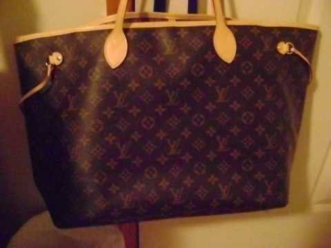 8bacb8531266 Louis Vuitton Authentication - ITEM 16 Monogram Neverfull - YouTube