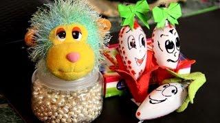 Как сделать новогодние игрушки на елку своими руками из лампочек