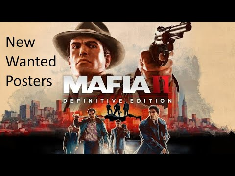 Mafia II: Definitive Edition - Extra Wanted Posters