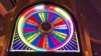 100 Max Bet Spins | Wheel of Fortune $10 Slot machine | Bonus Spin Jackpot | Las Vegas Casino