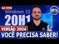 NOVA ATUALIZAÇÃO!!! Novo Windows 20H2  #canalforadoar ...
