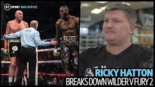 """I was like, what are you doing?!"" Ricky Hatton details what it was like in Fury's corner vs Wilder"
