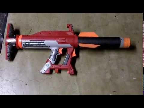 nerf rocket launcher review - YouTube