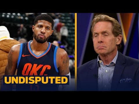 Skip Bayless felt sorry for Paul George during OKC's 100-95 win over the Pacers | UNDISPUTED