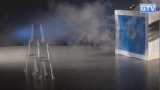 Дымовая пушка из бумажного кубика - физические опыты