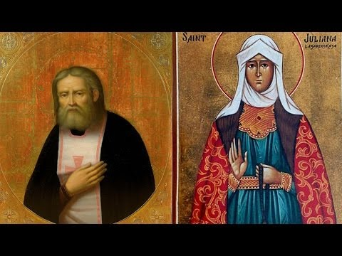 2014.01.15. St. Seraphim of Sarov. St. Juliana of Lazarevo. Sermon by Archpriest Victor Potapov