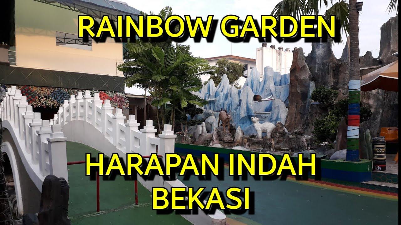 Rainbow Garden | Harapan Indah | Bekasi | #Vlog4 - YouTube