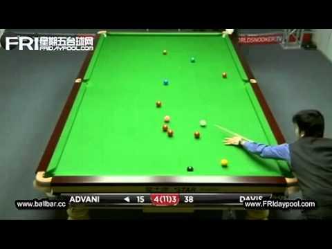 Steve Davis vs Pankaj Advani ~2012 UK Championship RD.3