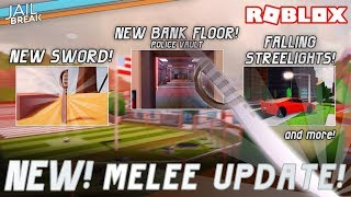 Jailbreak Schwert Update + Neue Bank | Roblox