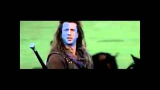 BRAVEHEART FILM - ONLY THE BRAVE  - MEL GIBSON - RUNRIG - SCOTLAND