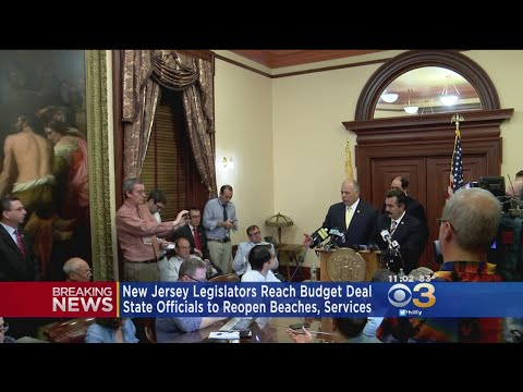 New Jersey Government Reaches Deal Ending Shutdown