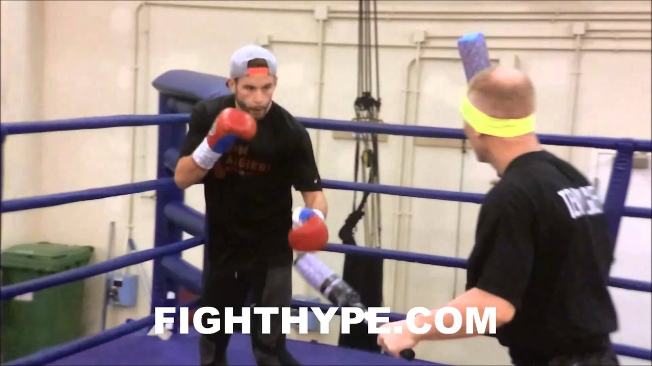 PACQUIAO VS. ALGIERI FIGHT WEEK DAY ONE: CHRIS ALGIERI VIDEO DIARY #1