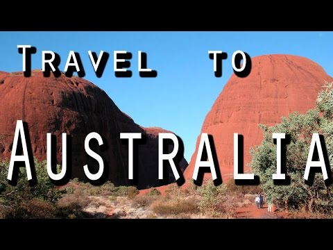 Travel to Australia - Visit the land of red sand, kangaroos, colourful seabeds and koalas