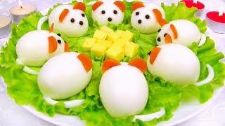 Праздничная Закуска «Мышки» - Просто и Вкусно!