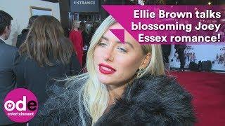 Love Island's Ellie Brown talks blossoming Joey Essex romance!