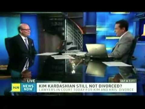 Randy Kessler - CNN Headline News discussing the Kim Kardashian divorce
