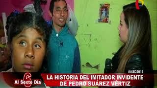 La historia del imitador invidente de Pedro Suárez Vértiz