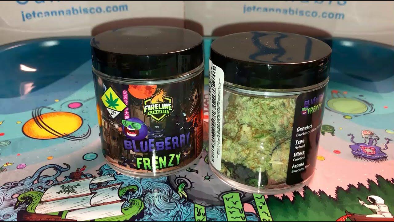 Fireline Cannabis | Blueberry Frenzy