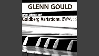 Goldberg Variations, BWV988: Aria