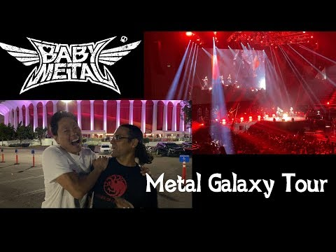 BABYMETAL CONCERT @ The Forum in Los Angeles - Lost in MPK