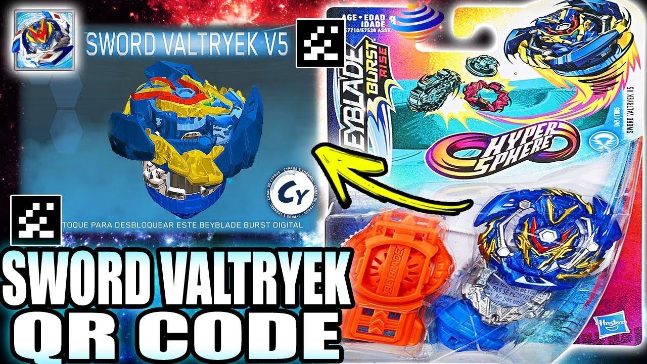 sword valtryek v5 qr code beyblade burst rise app youtube sword valtryek v5 qr code beyblade burst rise app
