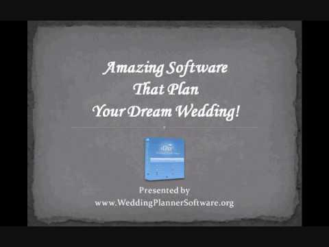 free downloadable wedding planner software youtube