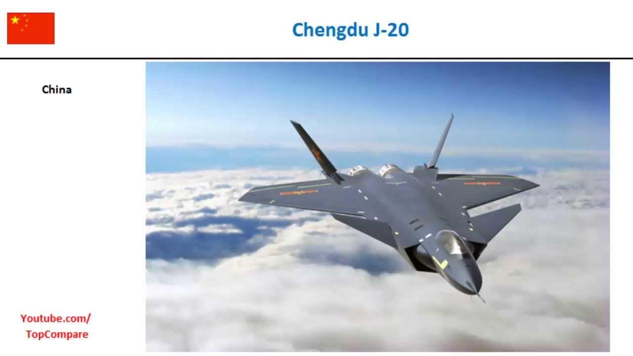 All Types f 22 raptor specs : Chengdu J-20, Multirole Fighter specs comparison - YouTube