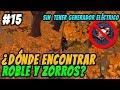 ¿Dónde encontrar ROBLE y ZORROS sin tener generador eléctrico? | Last Day on Earth Español