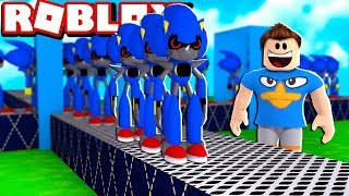 EVIL SONIC FACTORY IN ROBLOX!! (Metal Sonic Tycoon)