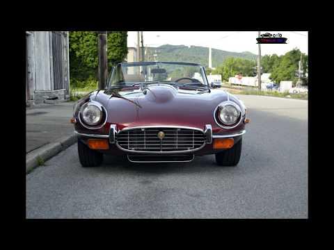 1974 Jaguar XKE Convertible V12 Restoration Project