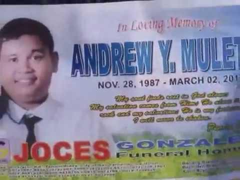 CABA, LA UNION, PHILIPPINES- Andrew Y. Muleta Funeral