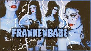 FRANKENBABE Full Costume + Makeup Tutorial! ASHTOBERFEST IV