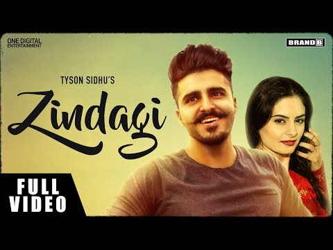 Zindagi | Tyson Sidhu | Melissa Singh | Sir Manny | Latest Brand New Punjabi Songs