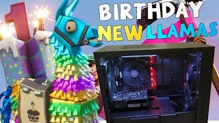 New 5.1 Birthday Llama & 100k Giveaway PC! (Finally) Fortnite STW