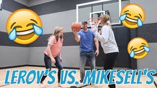 WHO WILL WIN A $1,000  | THE LEROYS VS THE MIKESELL FAMILY 😂