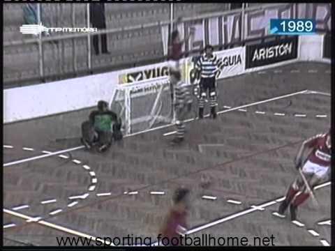 Hoquei Patins :: Benfica - 7 x Sporting - 2 de 1989/1990
