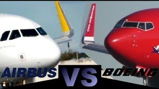Airbus A320 Sharklets Vs Boeing Winglets Full Hd1080p