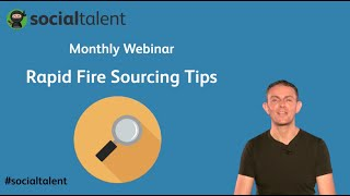 Rapid Fire Sourcing Tips