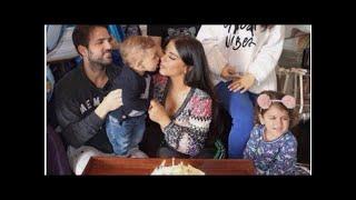 Cesc Fabregas y Daniella Semaan celebran el primer cumpleaños del benjamín de la familia